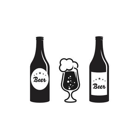 Beer craft vector illustration design template