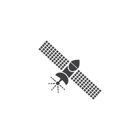 Satelite icon vector illustration design template Vectores