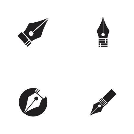 Pen icon template Vector illustration design