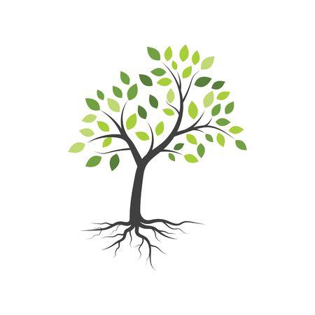 tree branch vector ilustration design template Vecteurs