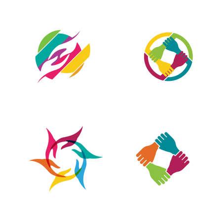 Hand Care icon Template vector illustration design 矢量图像