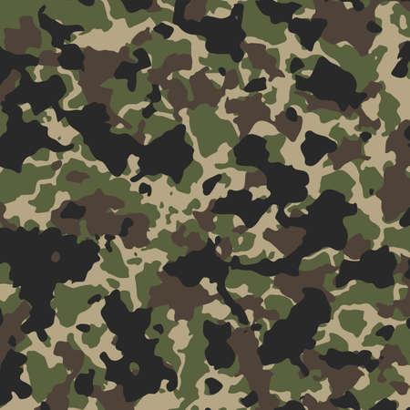 Texture camouflage military repeats army illustration design Vektorové ilustrace