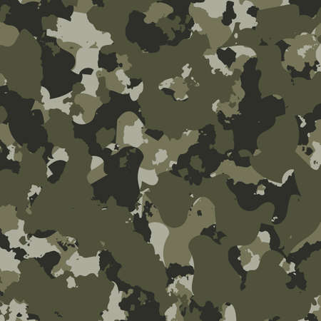 Texture camouflage military repeats seamless army illustration Vektorgrafik