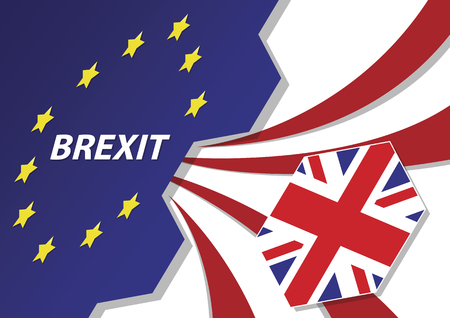yes or no to euro: United Kingdom exit from europe relative image. Brexit named politic process.