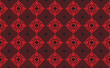 chinese new year card: Chinese new year pattern background. Vector illustration