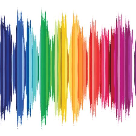 Astratto sfondo colorato onda, illustrazione vettoriale. Vettoriali