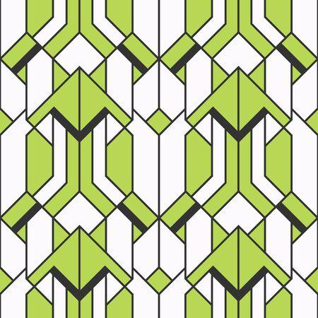 Patrón étnico abstracto sin fisuras Fondo geométrico con rayas. ilustración vectorial.