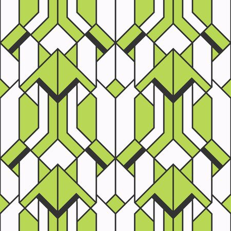 Seamless abstract ethnic pattern.Geometric background with stripes. vector illustration.