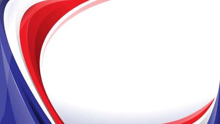 Abstract elegant background design with space for your text. Corporate concept red white blue vector illustration.