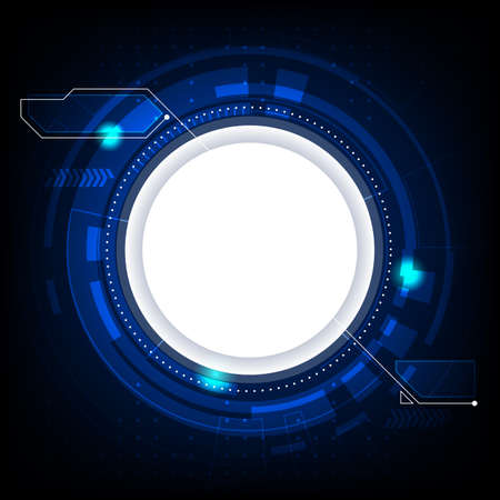 abstract vector technology. big data connect background illustration.
