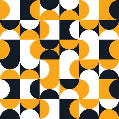 Art Deco style seamless pattern. Geometry minimalistic artwork poster with simple shape