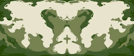 Abstract green cave shape background texture for print, fabric, packaging design, invite.