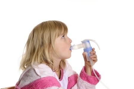 inhaled:  little girl inhaled
