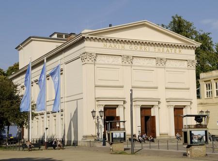 gorki: maxim-gorki-theater in berlin