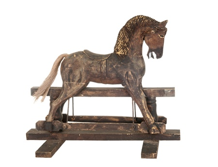 old rocking horse Stock Photo - 11956893