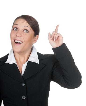 businesswoman has an idea Stock Photo - 12580323