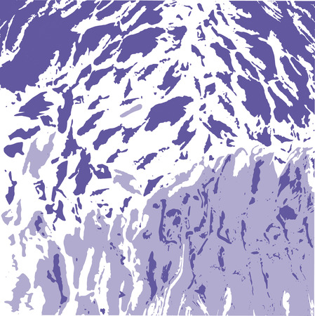 Abstract purple and white spots