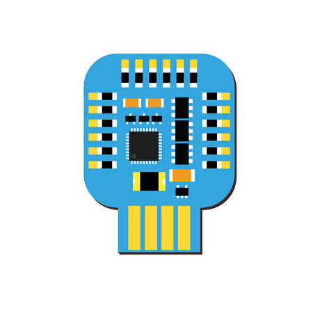 microcontroller: DIY electronic usb board with a microcontroller