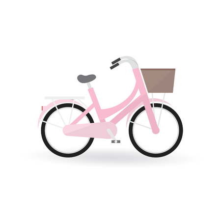 general: Bicycle concept by General bike is pink color.