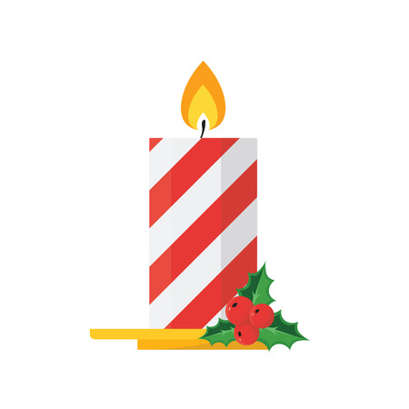 advent candles: Christmas concept by Candle and Gift Box.