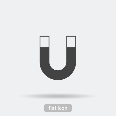 magnetism: Magnetism icon Illustration