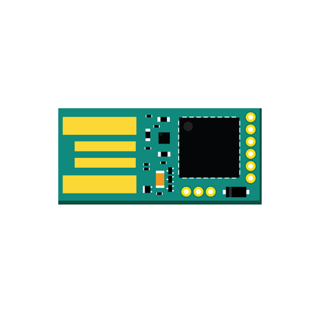 microcontroller: DIY electronic usb board with a microcontroller.