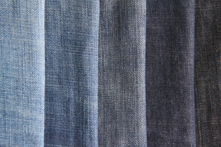 Texture of blue jeans as a background Stock Photo