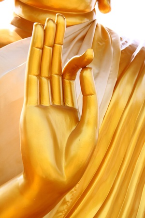 hands of the buddha, Thailand Stock Photo - 9354265