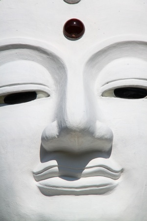 godhead: The Big White Buddha in Ubon RatchathaniNortheast of Thailand