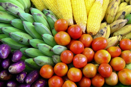 Fresh Vegetables, Fruits and other foodstuffs Stock Photo - 10466767