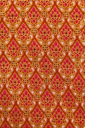 thailand fabrics: Pattern of Thailand native cloths, thai art