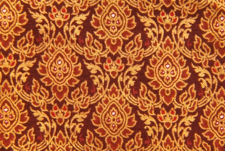 Old style Thai Silk, background or texture