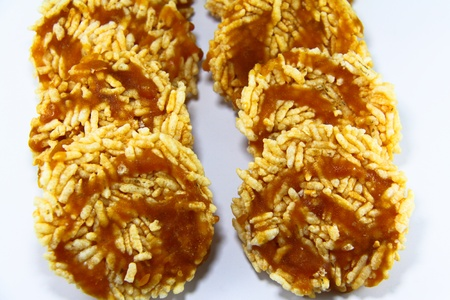 The Crispy Rice Cereal thai style, Nageled Stock Photo - 10517519