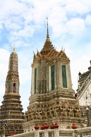 Stupa at Wat Arun in Bangkok, Thailand