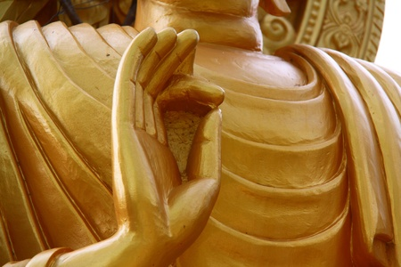 Hands Of The Buddha Stock Photo