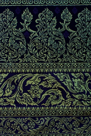 Old style Thai Silk photo