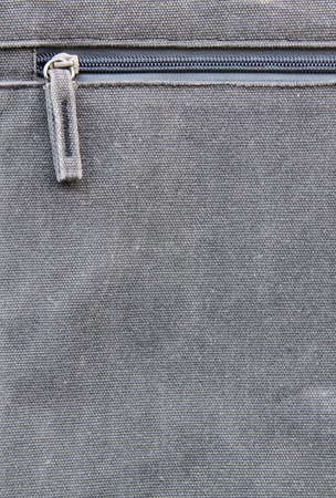 Close up of a Unzipped on a bag photo
