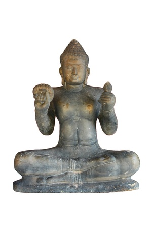 buddha statue at the temple Stock Photo - 17484393