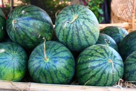 Heap of watermelons, Can be used as background photo