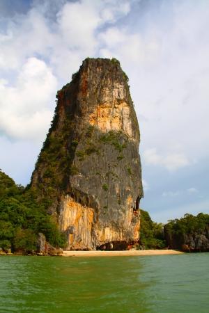 phang nga: Exotic landscape Phang Nga in Thailand