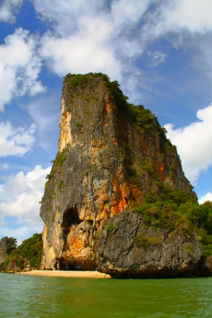 Phang Nga Bay Island in Thailand photo