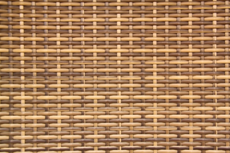 interlace: woven rattan with natural patterns  Stock Photo