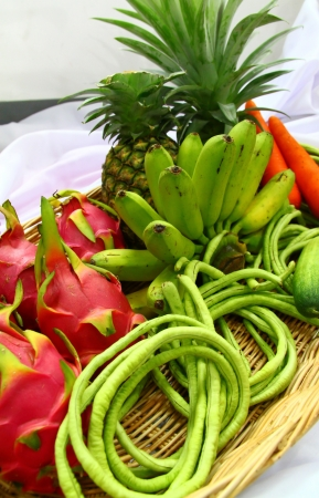 fresh fruits and vegetables Stock Photo - 17484480