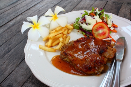 pork chop - delicious juicy pork chop