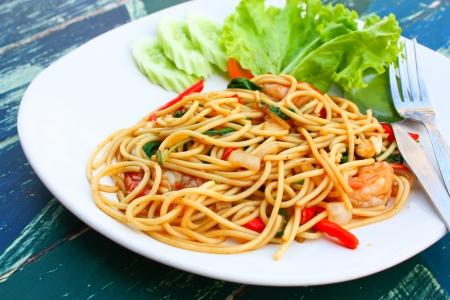 paghetti with Seafood photo