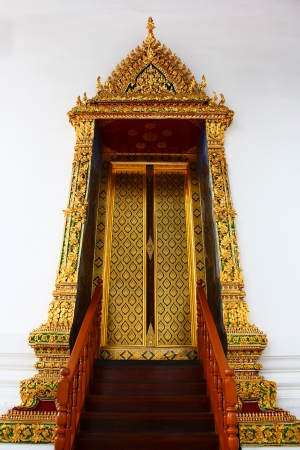 window thai temple  photo