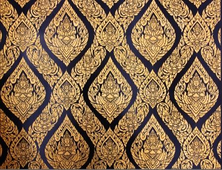 Thai golden art  photo