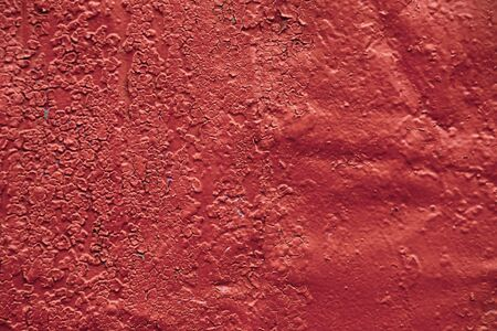 Abstract red background texture old concrete wall. Imagens