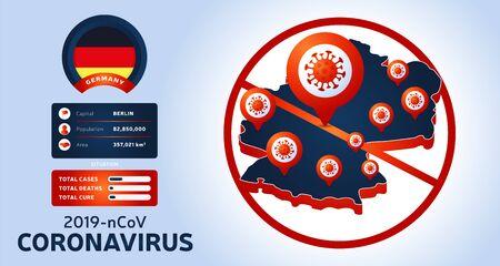 Coronavirus outbreak. Watch out for Novel Coronavirus outbreaks in Germany. Spread of the novel coronavirus Background.
