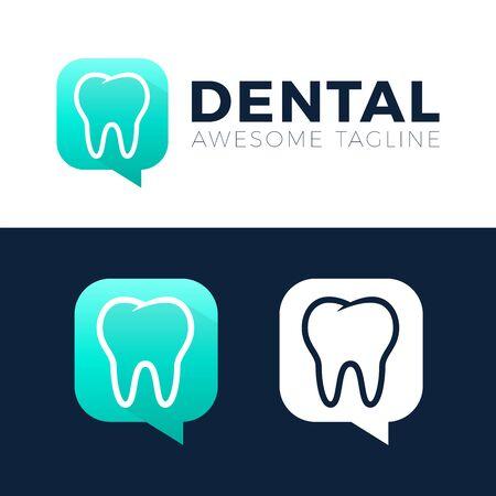 Dental Consult  designs concept vector, Dental  or talk  template